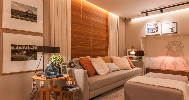 A beleza e o requinte da persiana de madeira no décor