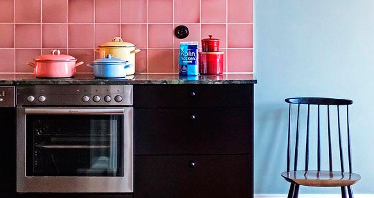 Decoração Vintage para Cozinha: azulejaria especial.