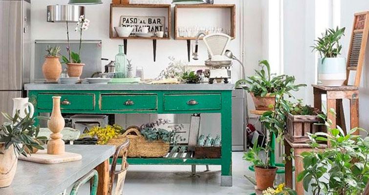 Decoração Vintage para Cozinha: Charme industrial.