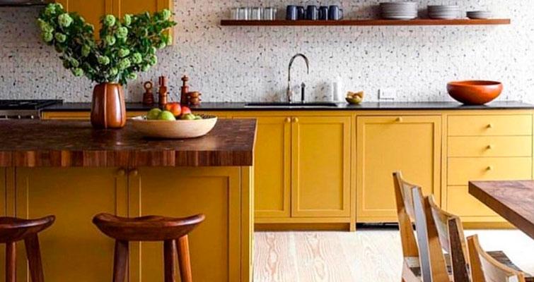 Decoração Vintage para Cozinha: Conforto em cores.