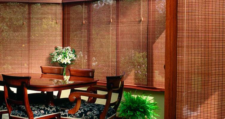 Inspiração no bambu para cortinas e persianas!