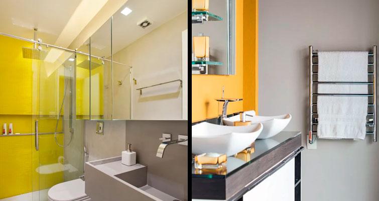 Veja algumas ideias para banheiros sem janela