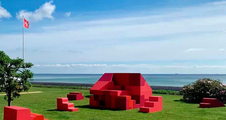 Quebra-cabeça gigante esteve no evento 3daysofdesign, em Copenhague