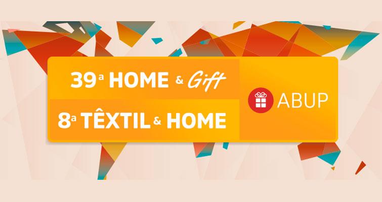 Evento Home & Gift / Têxtil & Home acontece em Agosto