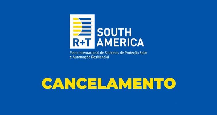 Cancelada a Edição 2020 da R+T South America
