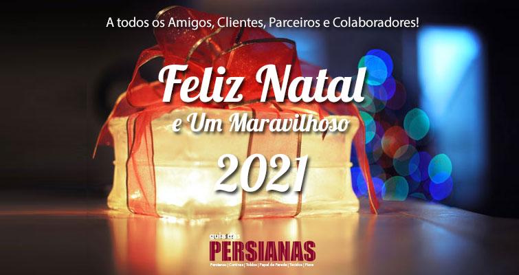 Feliz Natal e Um Maravilhoso 2021 para Todos